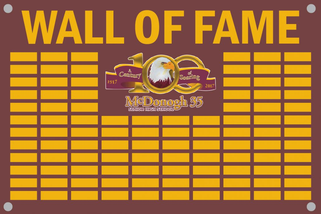 wall of fame mcdonogh 35 alumni association. Black Bedroom Furniture Sets. Home Design Ideas